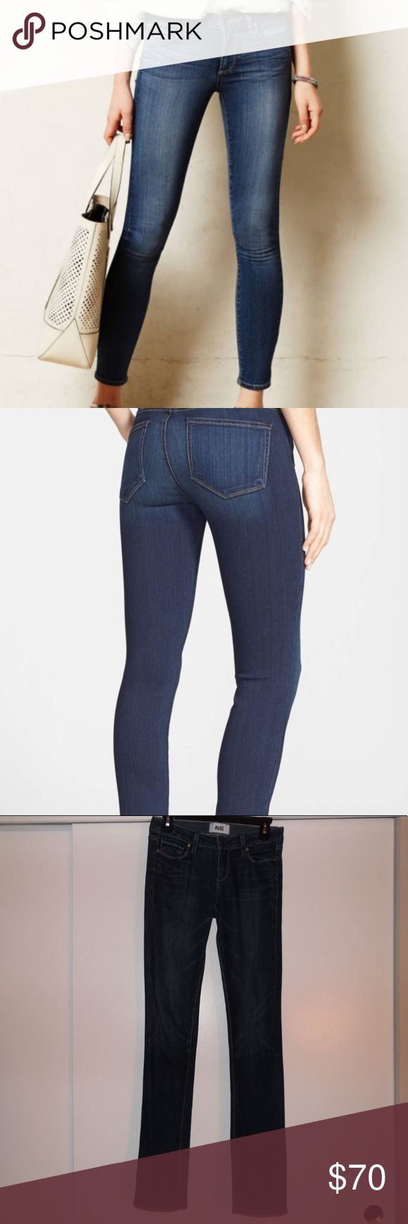 Paige Transcend-Verdugo Ankle Skinny Jeans In very good condition Paige Jeans, size 26. Inseam is 32 inches long. Still in stock for full price on the Nordstrom Web SIte. PAIGE Jeans Skinny
