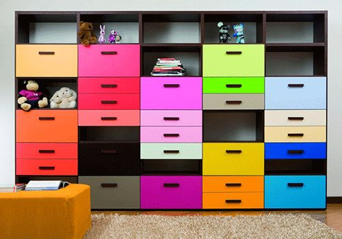 I feel like you could Ikea hack this with billy bookcases and some plywood with cool hardware?!?