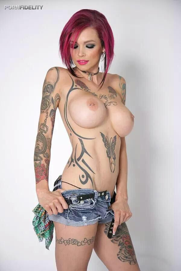 girls chest tattoos nude topless