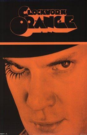 Framed Clockwork Orange - Alex Face Print