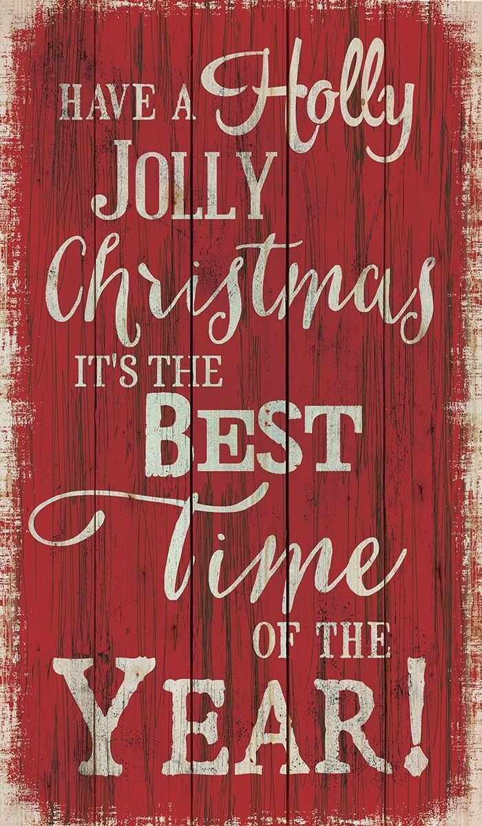 Reads: Have a holly, jolly Christmas. It's the best time of the year!  Sawtooth hangers are applied to the cross beam for simple wall application and alignment. Constructed from pine pallets