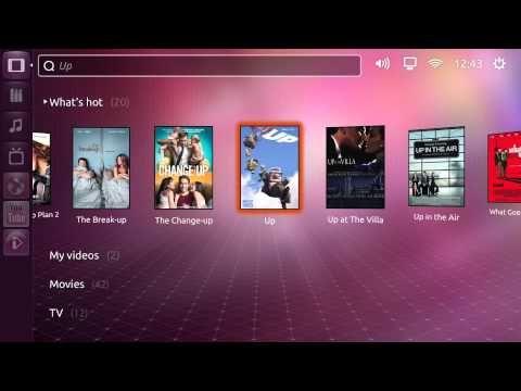 Ubuntu on TV? Die Ubuntu TV UI auf der CES 2012 - Smart-TV - YouTube