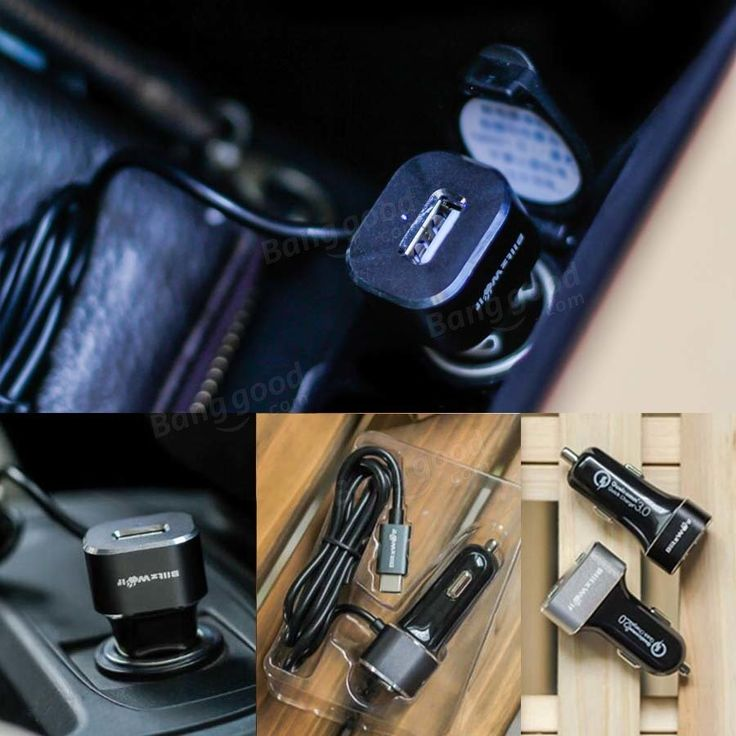 BlitzWolf® 5V 5.4A USB Type C BW-C3 Car Charger 27W for Nokia N1 tablet, Google Chromebook Pixel, Google Nexus 6P, LG Nexus 5X, or Apple Macbook 12 inch and more Sale - Banggood.com
