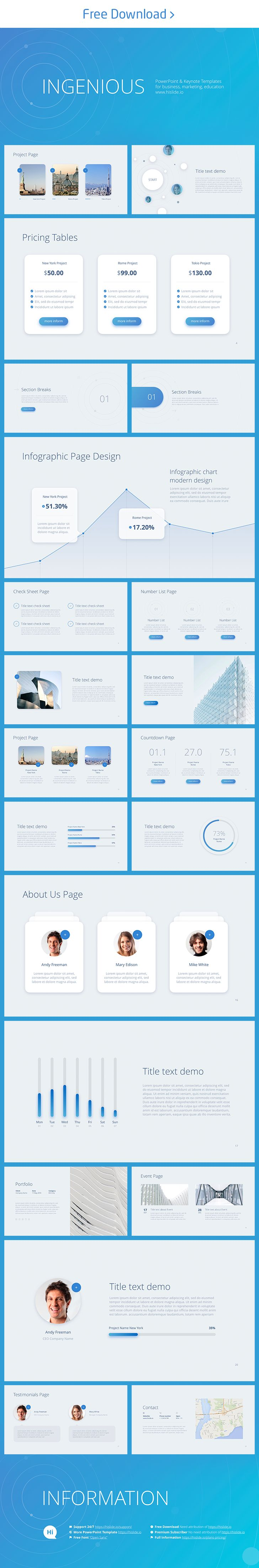 Best Free Keynote Template Images On   Free Keynote