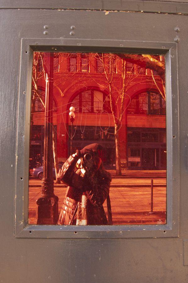 SALLY KIM-MILLER -Self-Portrait