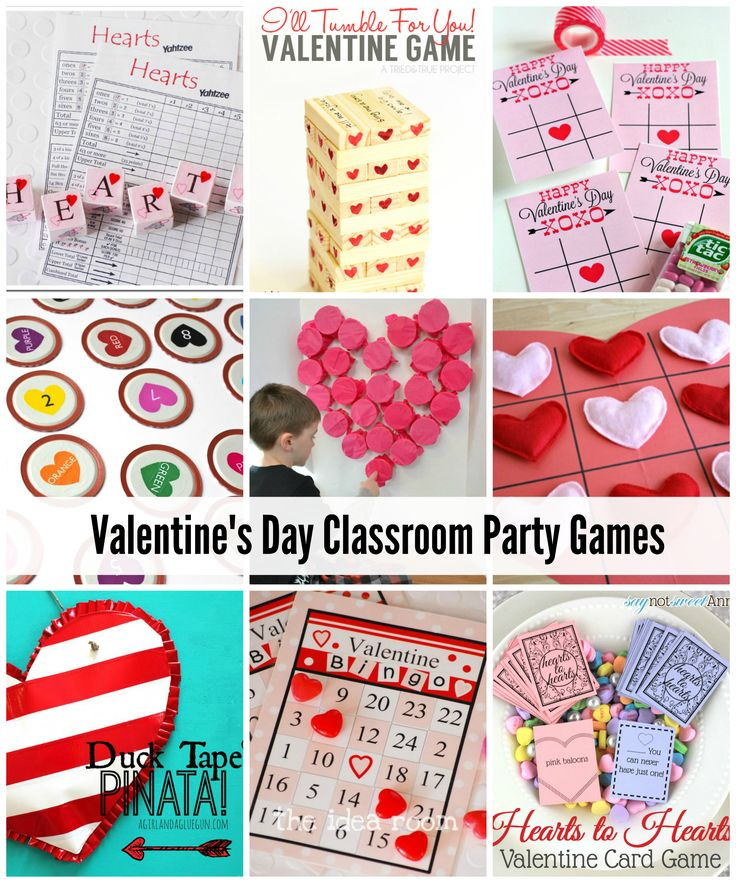 Valentines Day Class Games and Activities | theidearoom.net