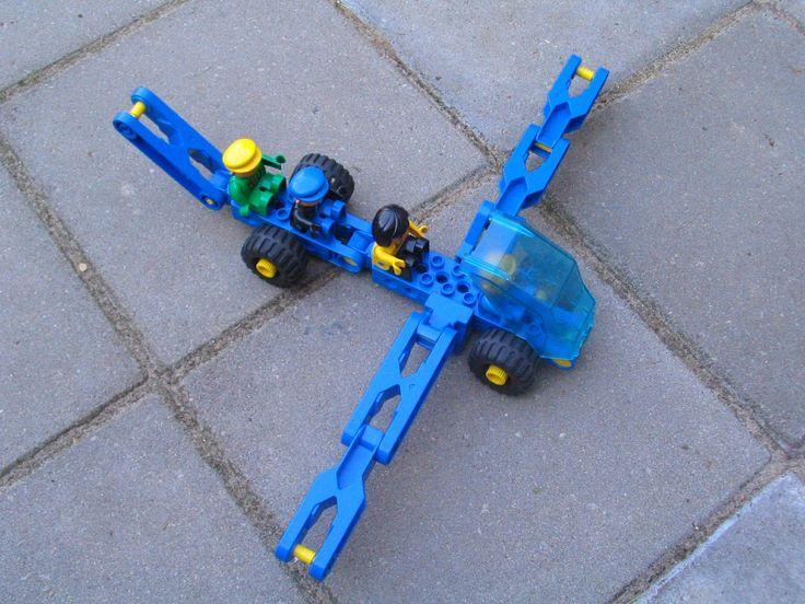 vliegtuig van lego toolo - soort technisch duplo