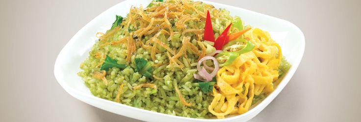 Nasi Goreng Hijau | Green Fried Rice | Blue Band Indonesia