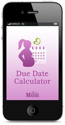 Due Date Calculator - click to download your FREE app now! Determines your due date and keeps you up to date on how far along you are.