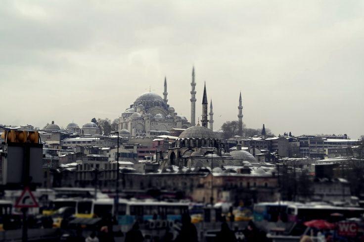 from Galata Bridge to Süleymaniye Mosque #istanbul