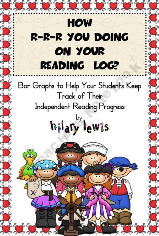 CCSS Progress Graph-Show Growth-Reading Logs FREEBIE