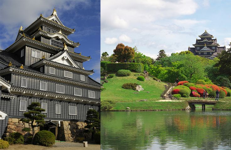 兼六園、偕楽園と並ぶ日本三名園の一つ、後楽園は今から約300年前に岡山藩ニ代藩主、池田綱政によってつくられた庭園。時代の流れとともに、歴代藩主の手が加えられながらも、当初の姿を大きく変えることなく今に伝えられている。園内には四季折々の花が咲き、様々な催しが開かれています。  http://www.okayama-korakuen.jp/ 岡山城は黒い外観から別名「烏城」とも呼ばれています。天守閣内には、お殿様・お姫様気分が味わえる着付けコーナーや備前焼の土ひねり体験ができる「岡山城天守閣内備前焼工房」もあります。後楽園と岡山城では、ボランティアによるガイドが行われているので、じっくりと巡りたい方におすすめです(雨天中止の場合あり)。 http://www.okayama-kanko.net/ujo/  #Okayama_Japan #Setouchi