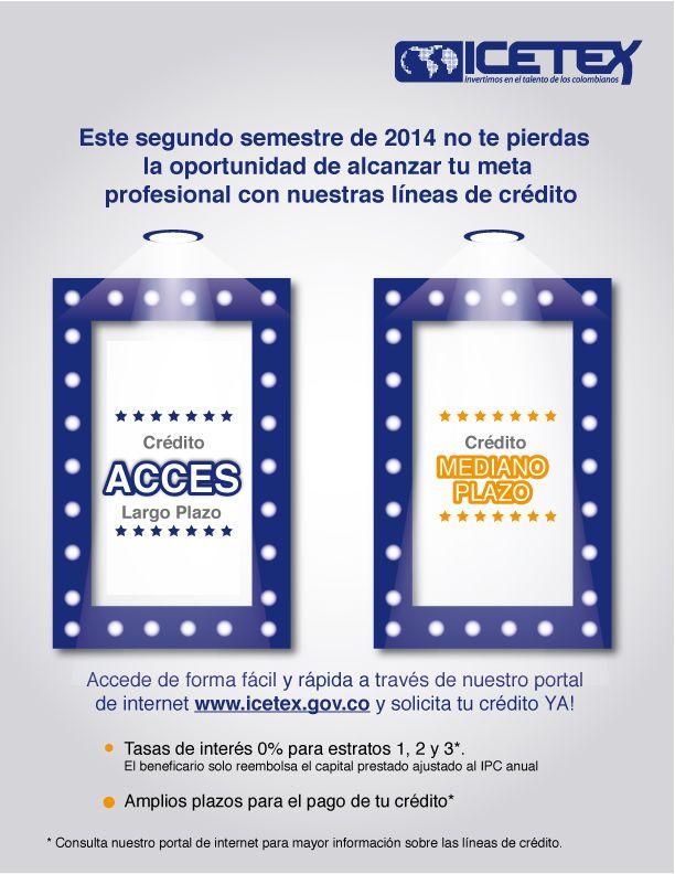 Información ICETEX Visita www.icetex.gov.co #Unicartagena