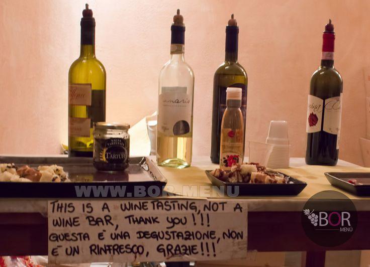 Bor Menü on tour http://bor.menu/ San Gimignano