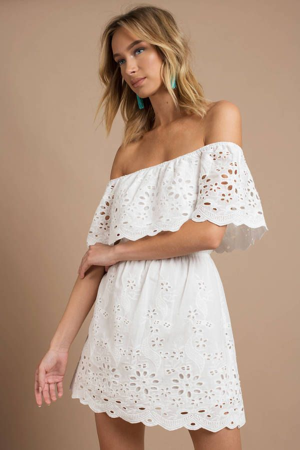 a311751dc9 Looking for the Ruby White Off Shoulder Dress