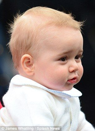 Meet the Prince George lookalike - but is YOUR child more convincing? #dailymail