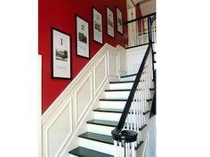 1000 id es sur le th me rampes d 39 escalier peintes sur - Peinture mur escalier ...