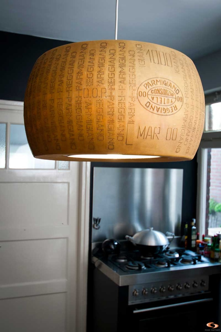 Parmezaanse Kaas Lamp - Parmesan Cheese Lamp