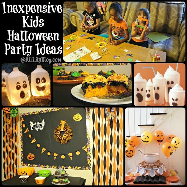 inexpensive kid halloween party ideas and tips from alililyblogcom - Halloween Birthday Ideas
