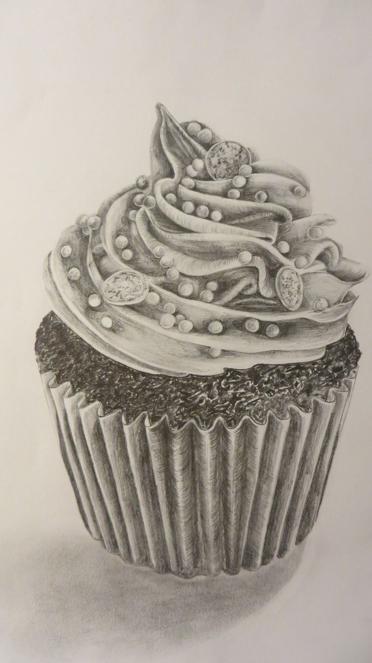 Artist Who Draws Cake : 25+ Best Ideas about Cupcake Drawing on Pinterest ...