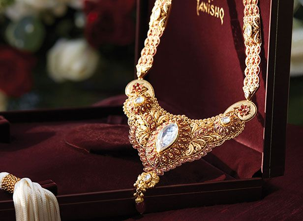Tanishq Kannadiga Bride Wedding Jewellery Collection - Long Chain