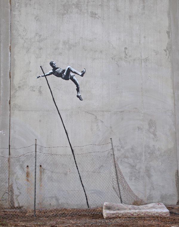 Banksy – Olympic Street Art: Banksy Streetartnew, Land Streetart, Olympia Streetart, Banksy Street Art, Olympic Streetart, Landart Streetart, 80 Streetart, London Streetartnews Net, Graffiti Streetart