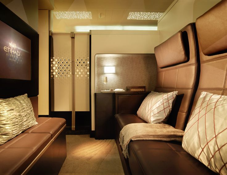 Etihad Airbus A380 the residence Suite