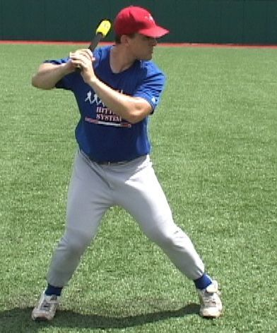 Baseball Hitting Drills - This one simple drill will virtually eliminate and correct any loop or sweeping swing, and will help you increase bat speed in get the barrel of the bat in the proper postion. http://www.instructables.com/id/Baseball-Hitting-Drills-Tips/