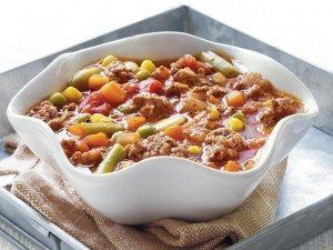 Easy Vegetable-Beef Soup – Holidays