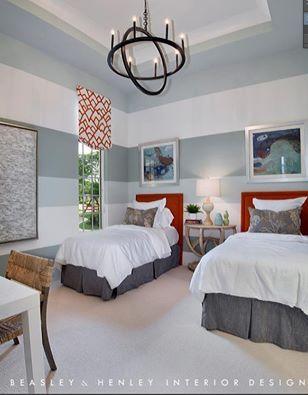 Luxury bedroom design ideas by Beasley & Henley Interior Design.