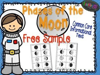 This is a free sample from our 1st-3rd grade Moon Phases unit. The full unit includes 78 pages with student texts, extensions, posters and more. Please visit our store for this informational text unit and many others!We appreciate feedback very much!Follow our store to receive a notice each time we put up a freebie or a new product!