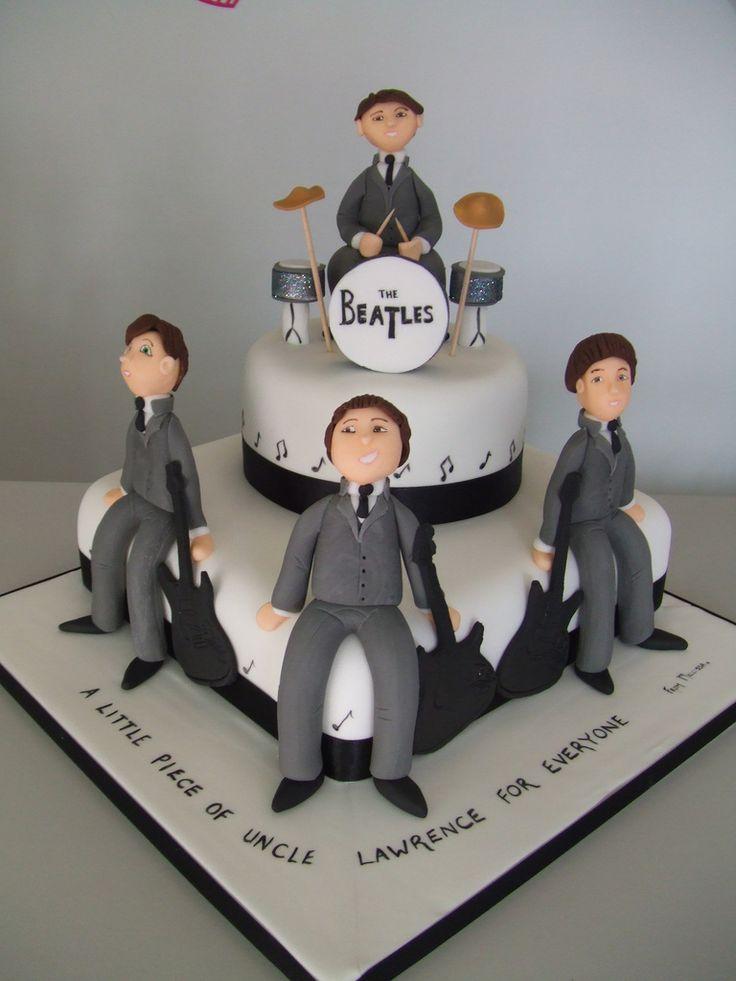 25 Best Ideas About Beatles Cake On Pinterest Unique