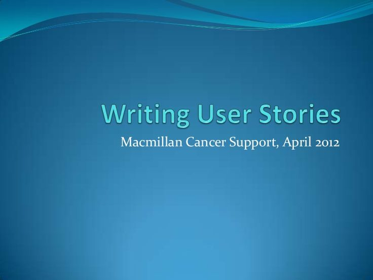Presented at Macmillan Cancer Support in London on 26 April 2012