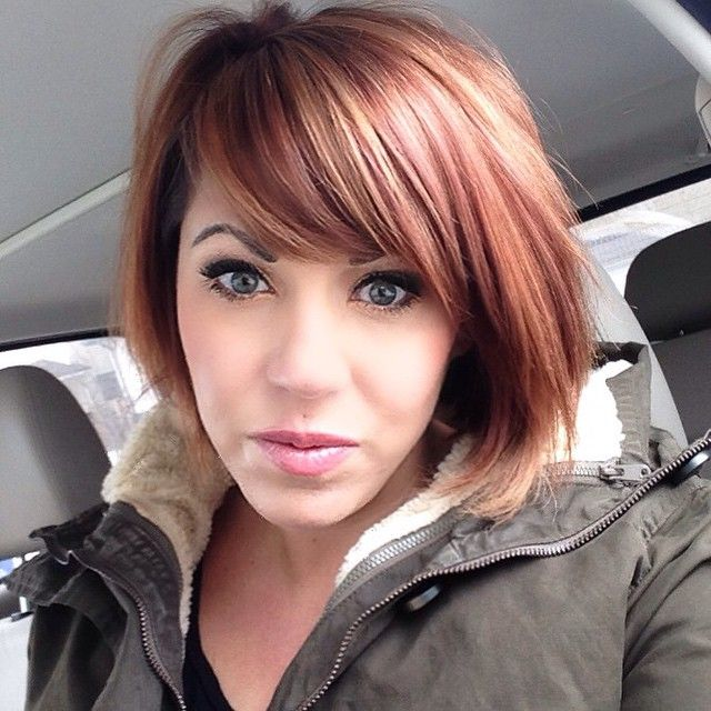 Spring is in the air! What better way to bring in the new season than with a new hair color? Check out this beautiful rose gold colored hair done with AVEDA color!