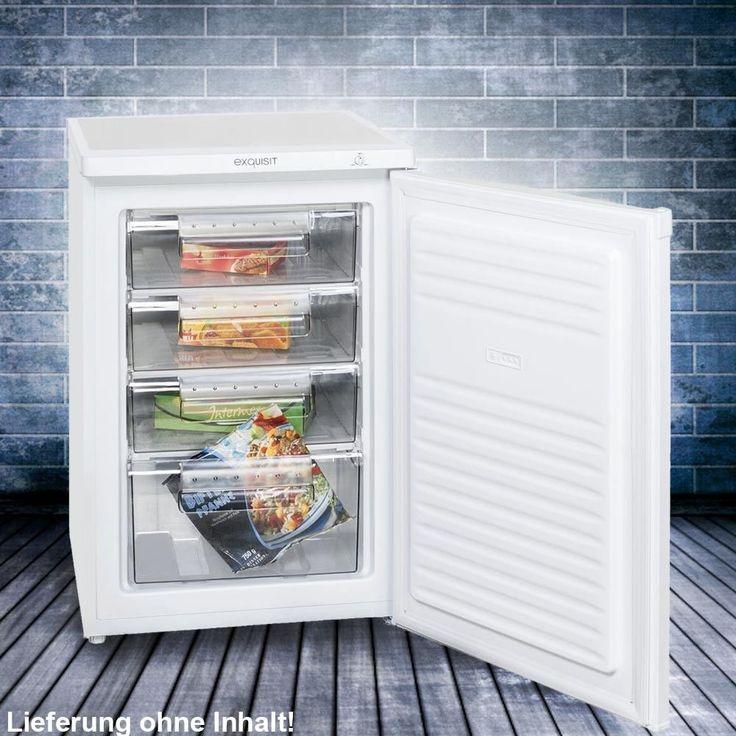 Gefrierschränke Freistehende Tiefkühltruhe EEK A + 84 Liter …   – QuickBerater