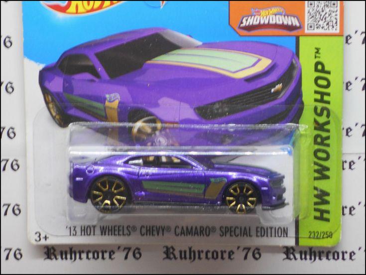 Hot Wheels Chevrolet Camaro Special Edition 2013 In 2020 Hot