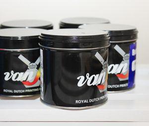 Van Son rubber-based inks. #letterpress #inks #vanson