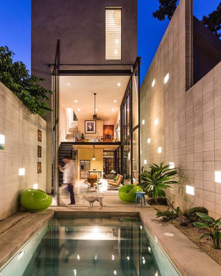 "29.2 mil Me gusta, 97 comentarios - Architecture & Design Magazine (@d.signers) en Instagram: """"Casa Desnuda"" designed by Taller Estilo Arquitectura. #d_signers ______ Location: #Merida #Mexico…"""