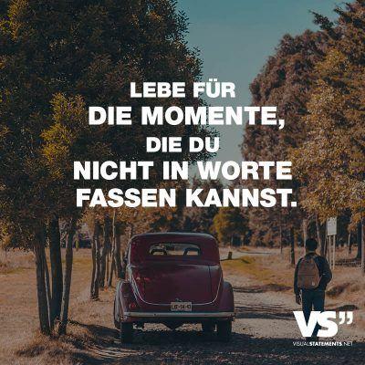 Lebe für die Momente, die du nicht in Worte fassen kannst. – Olha Vavryshchuk