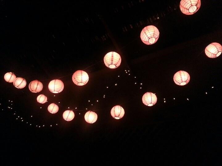 Dinner lights..