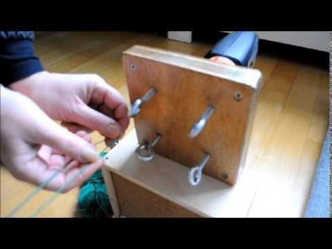 ply split cord maker - YouTube