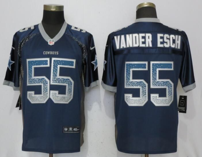 pick up cd167 e3e4f Nike Cowboys 55 Leighton Vander Esch Navy Drift Fashion ...