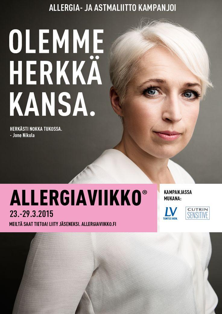 Allergiaviikko 2015, Anna Perho