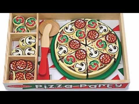Image result for melissa and doug pizza