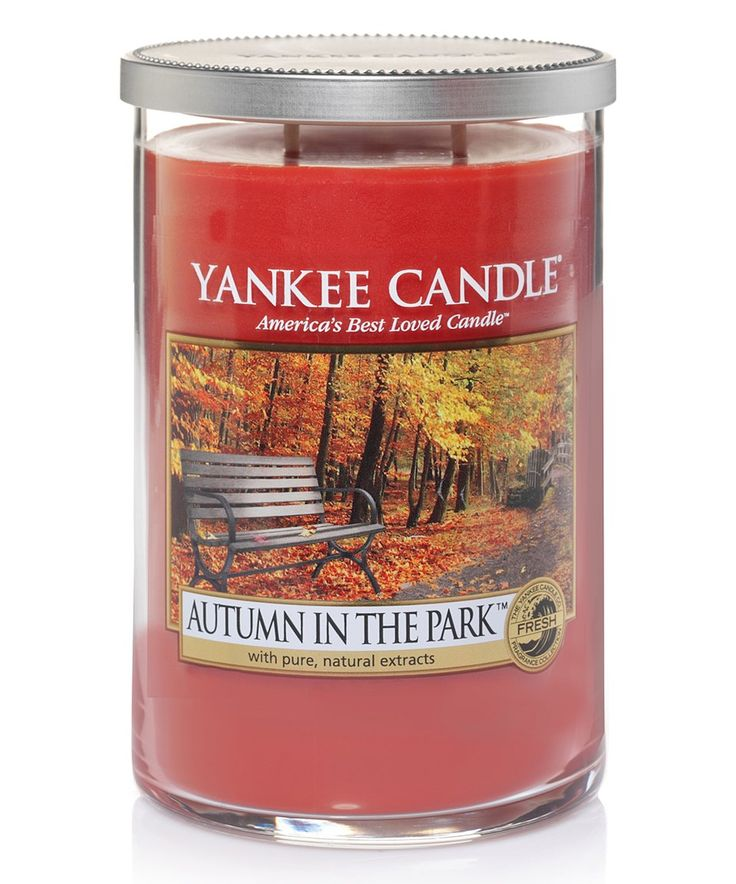 Take a look at this Autumn in the Park 22-Oz. Tumbler Candle today!