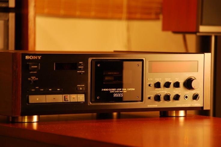 Sony Tc K950es Totl Vintage 3 Head 3 Motor Cassette Deck