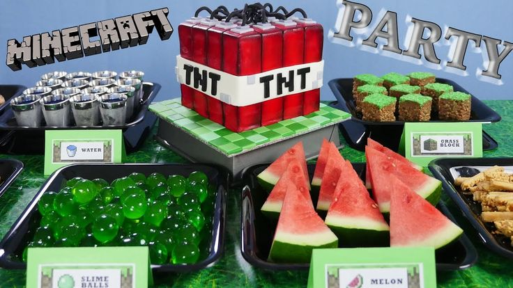 Minecraft EDIBLE slime balls, grass blocks TNT   How To Cook That Ann Re...
