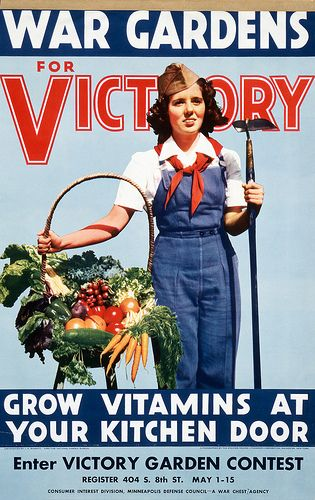 Vintage Victory Garden posters - would love to have a few of these