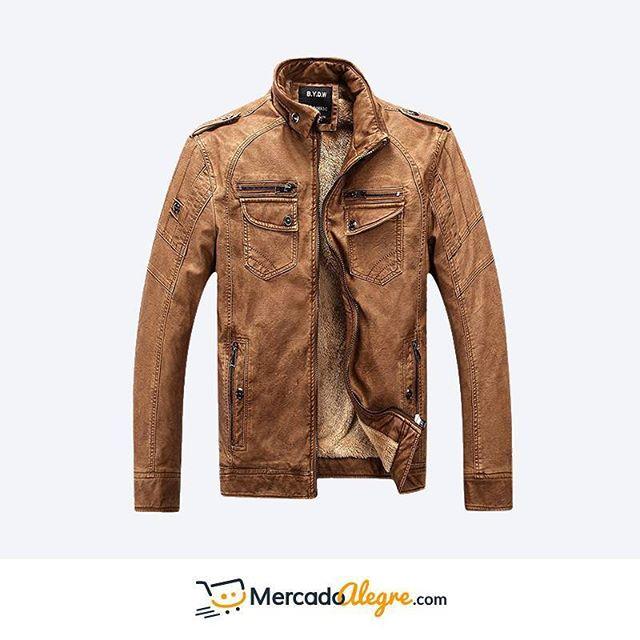 La variedad de colores de las #chaquetas de #cuero te permite escogerlas dependiendo de la ocasión.  Puedes combinarlas con pantalones de vestir, jeans, o pantalones casuales.  La actitud es la acompañante perfecta.  Si deseas ver otros modelos o colores puedes visitar nuestra web.  .  .  .  .  .  .  .  .  .  .  #Colombia #Compras #Medellin #Mercado #Bogota #Cali #followforfollow #Moda #Ropa #Ventas #Mercado #Alegre #Pereira #SantaMarta #Barranquilla #vistealamoda #free #Happy #cartagena
