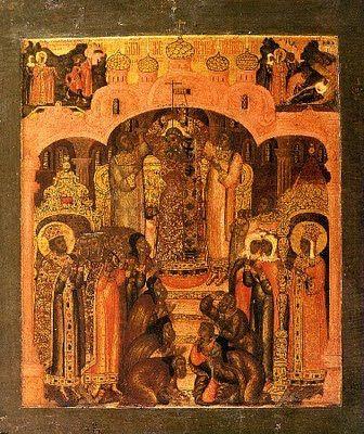 Eglise orthodoxe de Notre Dame de Kazan à Moisenay: Fête de l'Exaltation de la Sainte Croix